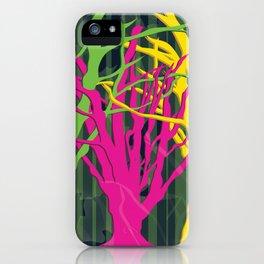 LEAF ME ALONE iPhone Case