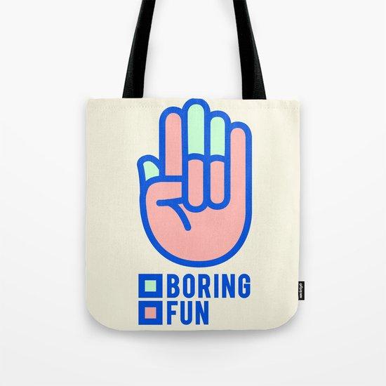 BORING N0.1 Tote Bag