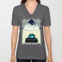 Final Fantasy VII - Sleeping Forest Tourism Tee Unisex V-Neck
