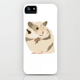 Cute Hamster Shirt - Gift For Hamster Lovers iPhone Case