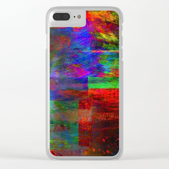 abstract design # # Clear iPhone Case