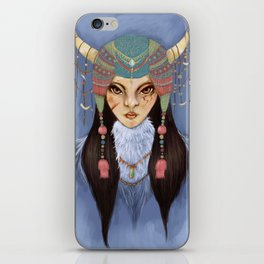 Mongolian Princess iPhone Skin