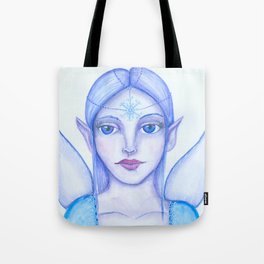 Snow fairy Tote Bag