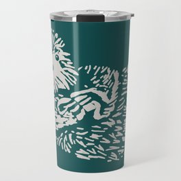 The handsome sea otter Travel Mug