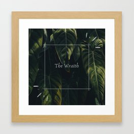 The Wraith - Six of Crows Framed Art Print