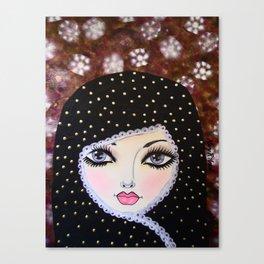 GHANIYAH Canvas Print