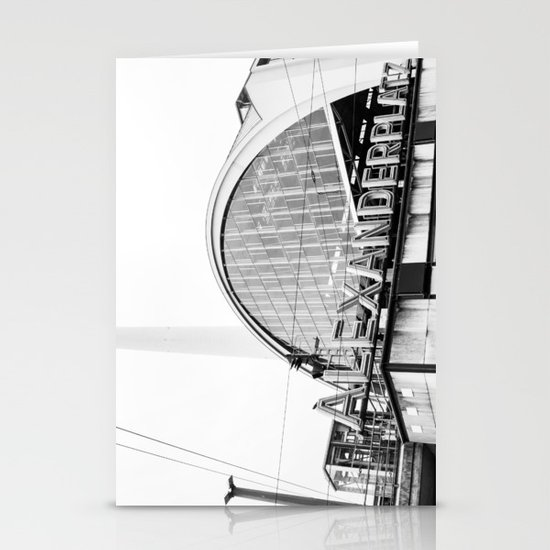 Berlin Alexandraplatz Stationery Cards