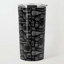 Witchcraft I [B&W] Travel Mug