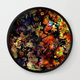 Waves of Vision Wall Clock