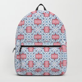 Watercolor symmetrical ornament Backpack