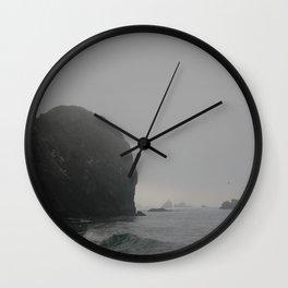 Ominous Tides Wall Clock