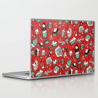 dessert Laptop & iPad Skins featuring Dessert First! by Dawn Gonzales