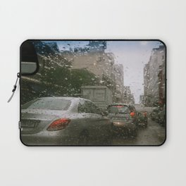 Cape Town traffic on a rainy day Laptop Sleeve