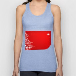 Red Christmas Unisex Tank Top