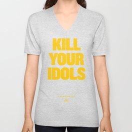 KILL YOUR IDOLS Unisex V-Neck
