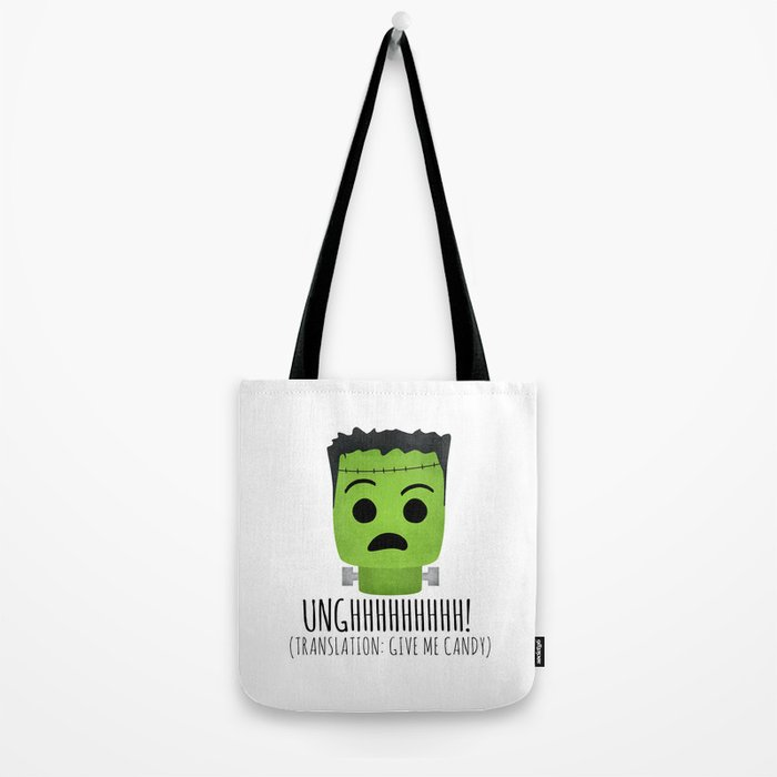 Frankenstein Wants Candy Tote Bag