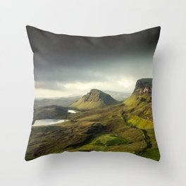 Up in the Clouds VII Throw Pillow