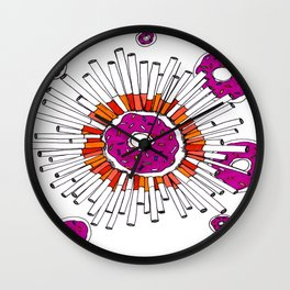 Bad Habits//Good Habits Wall Clock