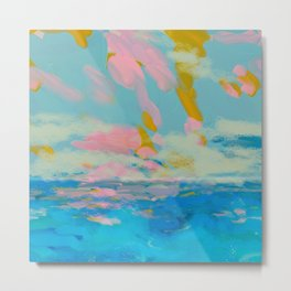 la mer in summer  Metal Print