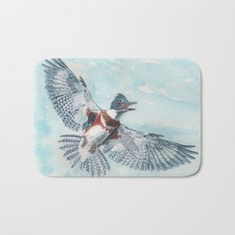 Belted Kingfisher Bath Mat