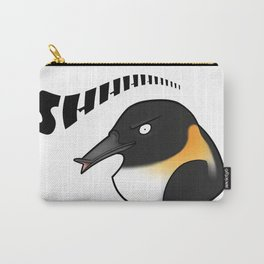 Shhhh-Penguin (VR Chat) Carry-All Pouch