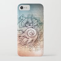 seashell iPhone & iPod Cases featuring Seashell by Irina Vinnik