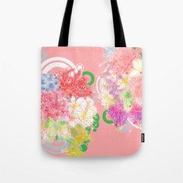 Is flowering seasons- a dream come true / 遍地花開-滿地結果 Tote Bag