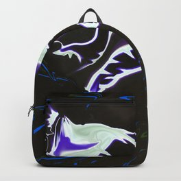 Star Trails liquifed Backpack