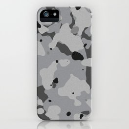 Crome Camouflage iPhone Case