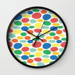 Large Dots Wall Clock