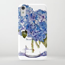 Cape Cod Hydrangea Large Canvas iPhone Case