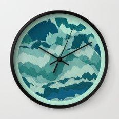 TOPOGRAPHY 006 Wall Clock