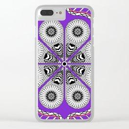 Flor Totonaca Clear iPhone Case