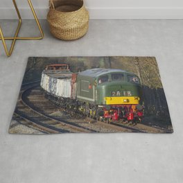 Class 45 Peak D123 train Rug