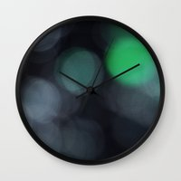 bokeh Wall Clocks featuring Bokeh by MB87