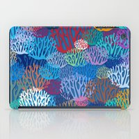 coral iPad Cases featuring Coral by Helene Michau