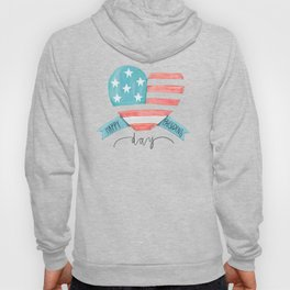 Happy Presidents Day With Love Hoody