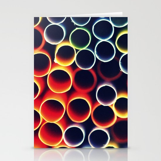 Straws Stationery Cards