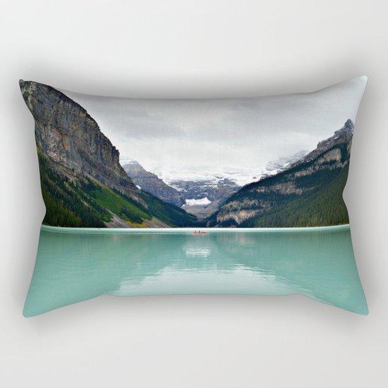 Lake Louise #mountains Rectangular Pillow