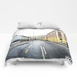 Sunday Morning, Vesterbro, Copenhagen Comforters