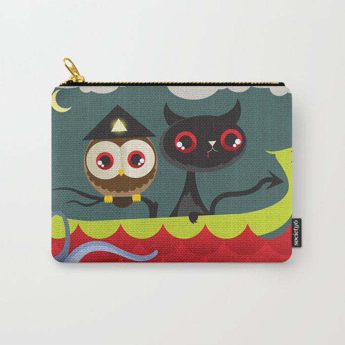 The Aleister & the Pussycat Carry-All Pouch