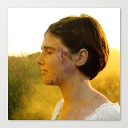 Gust of Yellow Canvas Print