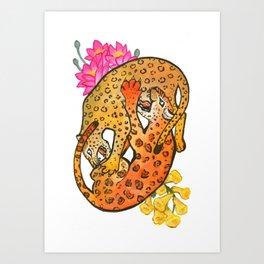 Leopard/Jaguar Art Print