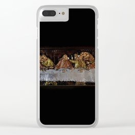 Last Supper - 212 Clear iPhone Case