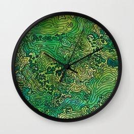 The Cascades Wall Clock