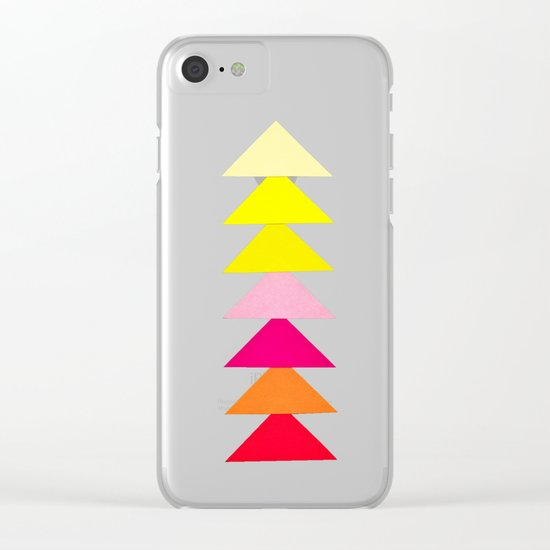 Arrows II Clear iPhone Case