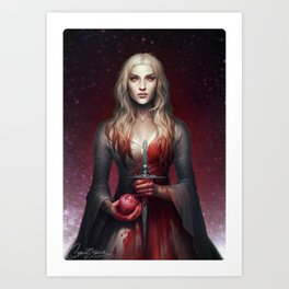 Graceless Art Print