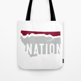 Griz Nation (Hi-Line Nation) Tote Bag