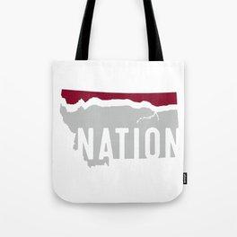 Griz Nation (Hi-Line Nation) Tote Bag