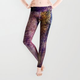 Wolf Forest : These Are My Forests Leggings